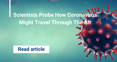 Scientists Probe How Coronavirus Might Travel Through The Air