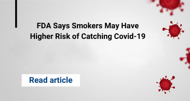 FDA Says Smokers May Have Higher Risk of Catching Covid-19