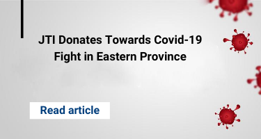 JTI Donates Towards Covid-19 Fight in Eastern Province