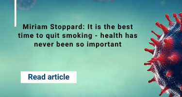 Miriam Stoppard: It is the best time to quit smoking - health has never been so important