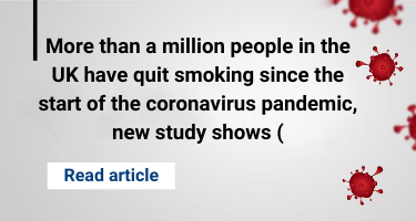 More than a million people in the UK have quit smoking since the start of the coronavirus pandemic, new study shows