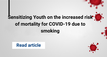 Sensitizing Youth on the increased risk of mortality for COVID-19 due to smoking