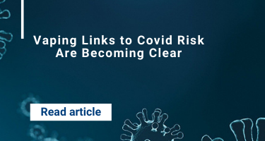 Vaping Links to Covid Risk Are Becoming Clear