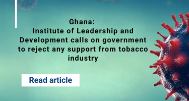 Ghana: Institute of Leadership and Development calls on government to reject any support from tobacco industry