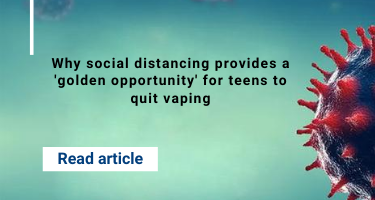 Smoking, Vaping Increase Risk of COVID-19 Complications
