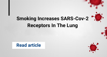 Smoking Increases SARS-Cov-2 Receptors In The Lung